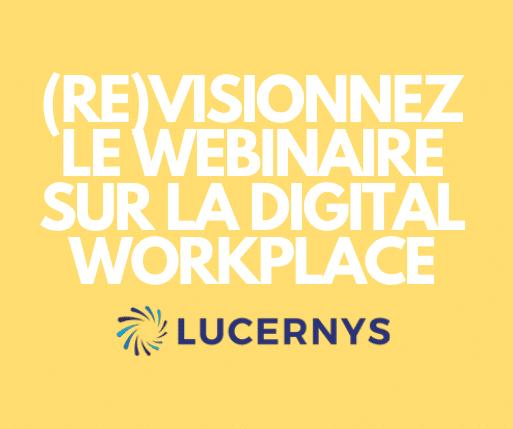 Webinaire Digital Workplace